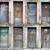velho · porta · trancado · confuso - foto stock © sqback