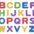 fundamenteel · fonts · abstract · onderwijs · communicatie · witte - stockfoto © sqback