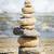 équilibre · zen · pierres · sable · mer · résumé - photo stock © srnr