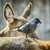 Перу · черный · крыло · один - Сток-фото © srnr