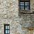 casa · casa · brilhante · blue · sky · edifício - foto stock © srnr