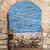 lang · licht · Blauw · vloer · architectuur · persoon - stockfoto © srnr