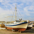 Motor · лодках · порт · пирс · морем · лодка - Сток-фото © srnr