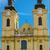 katholiek · kerk · klok · blauwe · hemel · Pasen · gebouw - stockfoto © srnr