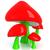 fantasy · grzyby · 3d · jeden · bajki · czerwony - zdjęcia stock © ssilver