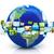 3D · abstrato · brilhante · terra · globo · negócio - foto stock © ssilver