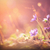 日没 · 花 · ヴィンテージ · スタイル · 写真 · 草 - ストックフォト © Steevy84