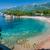 Montenegró · homok · tengerpart · gyönyörű · tökéletes · tenger - stock fotó © Steffus