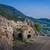 ören · eski · kasaba · uzak · dağlar · gökyüzü - stok fotoğraf © steffus