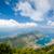 широкоугольный · пейзаж · морем · Черногория · облака · природы - Сток-фото © Steffus
