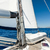 sailing yacht going on her sails in calm weather stock photo © steffus