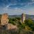 stari bar fortress medieval clock tower stock photo © steffus