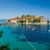 острове · курорта · Черногория - Сток-фото © steffus