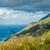 trópusi · tengerpart · hegyek · tájkép · trópusi · sziget · gyönyörű - stock fotó © steffus