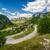 weg · bergen · gedekt · sneeuw · Zwitserland · hemel - stockfoto © steffus