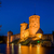 fortress towers at night stock photo © steffus