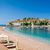 luxe · zand · strand · eiland · resort · Montenegro - stockfoto © steffus
