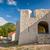 oude · wasknijper · blauwe · hemel · verlaten · dorp · tijd - stockfoto © steffus