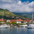 small yacht marina vith sailing boats landscape stock photo © steffus