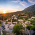stari bar town at sunset panorama stock photo © steffus