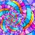 végtelenített · absztrakt · minta · színes · virág · tavasz - stock fotó © Stellis