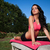 fitness · jogi · kobieta · kobra · stanowią - zdjęcia stock © stephanie_zieber