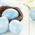 blue easter eggs and nest stock photo © stephaniefrey