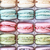 tray of fresh colorful macarons stock photo © stephaniefrey