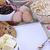 abierto · cuaderno · frescos · ingredientes · básico - foto stock © stephaniefrey