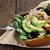 avokado · salata · tohum · elma · mükemmel - stok fotoğraf © StephanieFrey