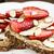 toast · mandorla · burro · banana · bianco - foto d'archivio © stephaniefrey