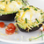 eggs baked in avocado with cheese stock photo © stephaniefrey