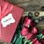 vermelho · coração · doces · madeira - foto stock © stephaniefrey