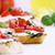 pomodoro · pane · fresche · mozzarella · formaggio · olio · d'oliva - foto d'archivio © stephaniefrey