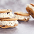 chocolate chip ice cream cookie sandwiches stock photo © stephaniefrey