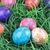 amarrar · pintado · ovos · de · páscoa · cesta · completo · mão - foto stock © stephaniefrey