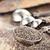 種子 · スプーン · シード · 金属 · 孤立した - ストックフォト © stephaniefrey