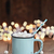 hot cocoa with mini marshmallows stock photo © stephaniefrey