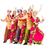 dansers · indian · kostuums · poseren · dans · team - stockfoto © stepstock