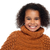 shot · stijlvol · afrikaanse · meisje · winter · kleding - stockfoto © stockyimages