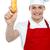 孤立した · ホットドッグ · ディナー · サンドイッチ · バーベキュー · 食事 - ストックフォト © stockyimages