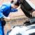 moderno · carro · cinto · gerador · motor · metal - foto stock © stockyimages