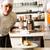 séfek · étterem · hotel · konyha · főzés · kettő - stock fotó © stockyimages