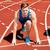 gemotiveerde · jonge · klaar · lopen · stadion - stockfoto © stockyimages