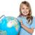 akıllı · bakıyor · genç · çocuk · dünya - stok fotoğraf © stockyimages