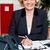 女性 · 執行 · クライアント · ポーズ - ストックフォト © stockyimages