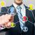 homme · toucher · réseau · écran · affaires - photo stock © stockyimages