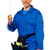 retrato · homem · fita · métrica · camisas · isolado - foto stock © stockyimages