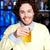 cerveza · blanco · fiesta · luz · bar · oro - foto stock © stockyimages