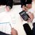 equipe · de · negócios · discussão · negócio · tecnologia · conexão - foto stock © stockyimages